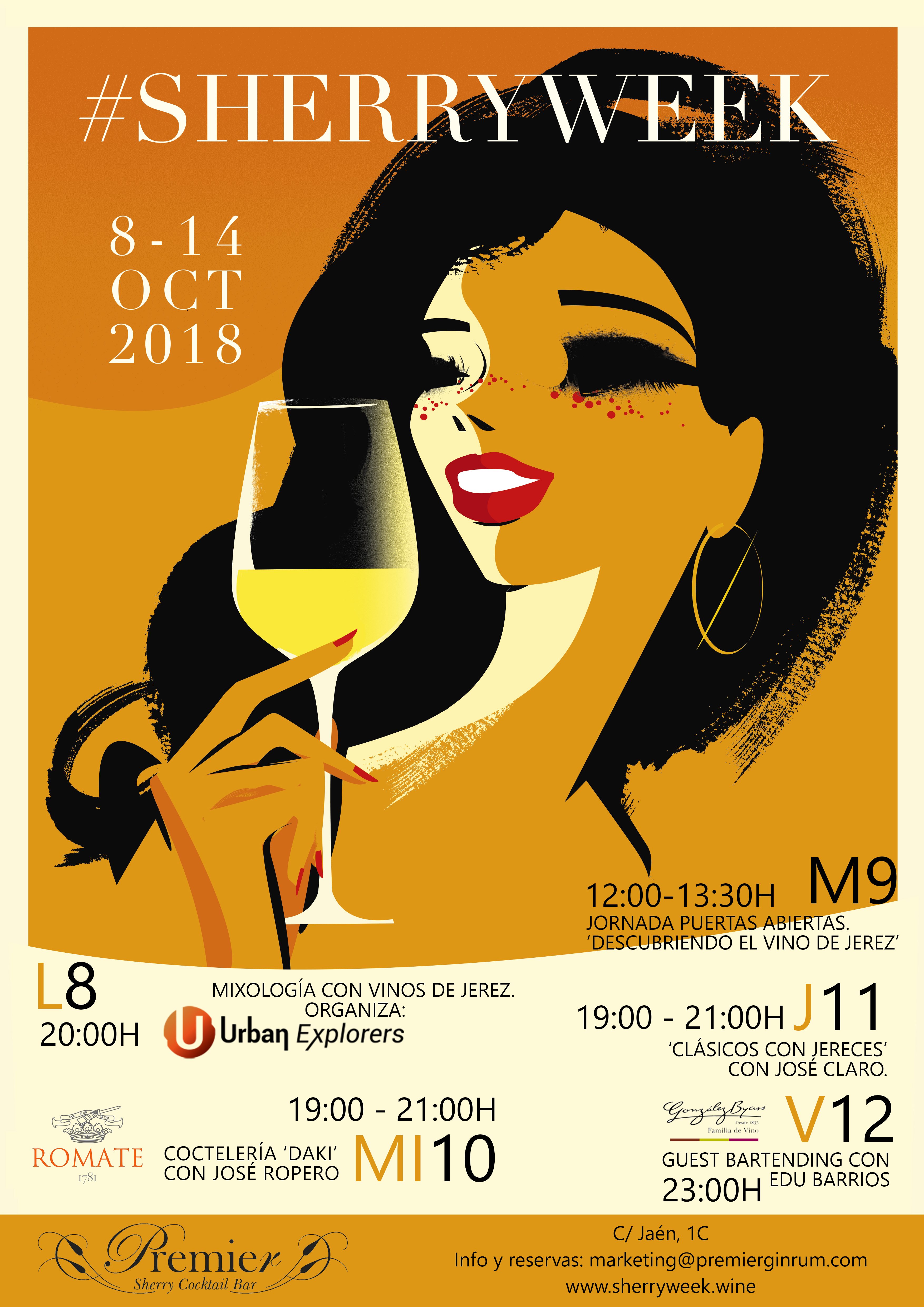 Sherry Week en Premier